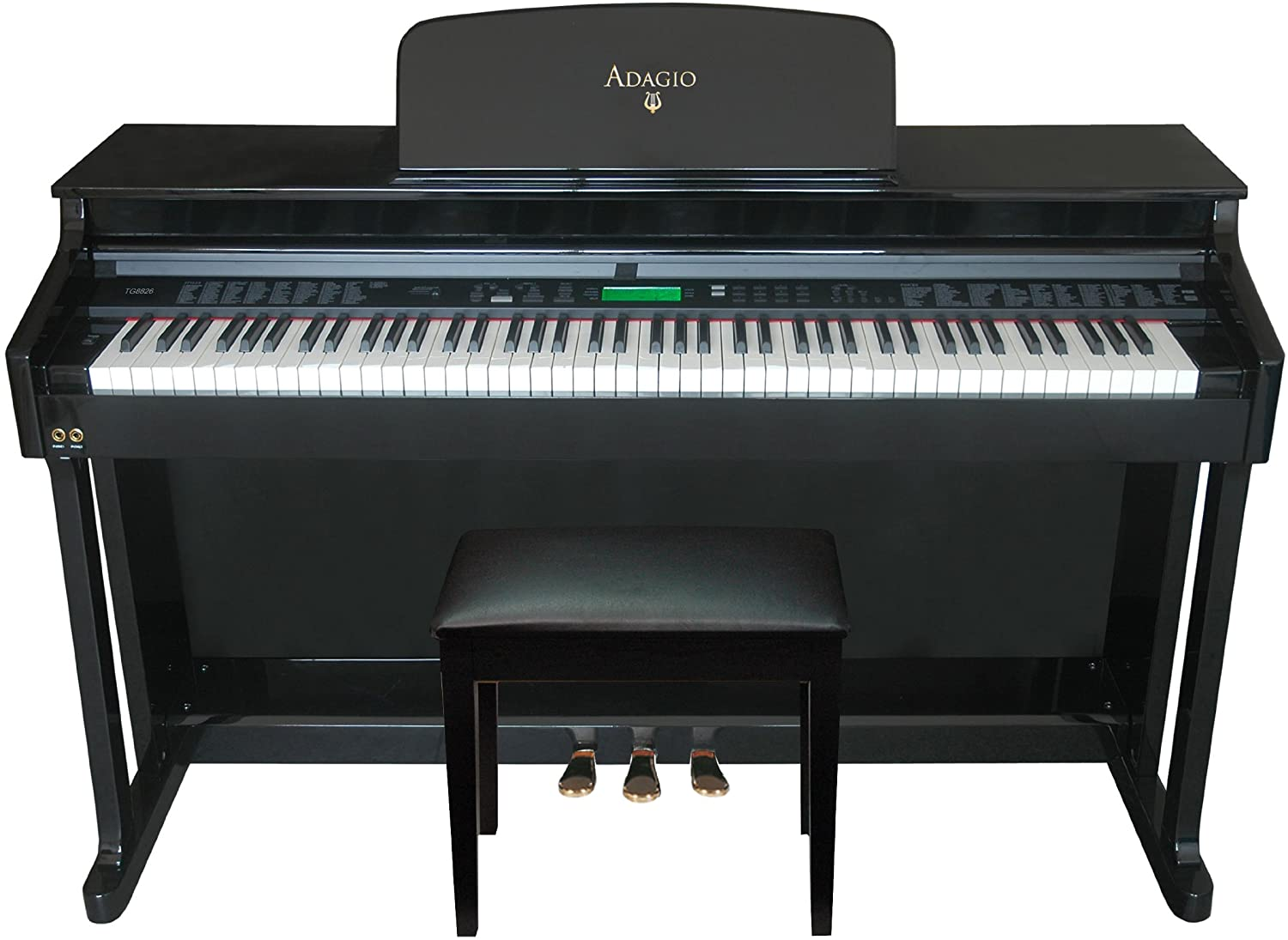 Adagio KDP-8826PE Upright 88